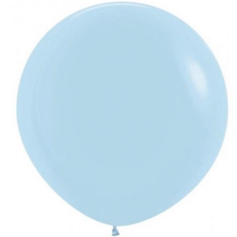 Giant Pastel Blue Balloon