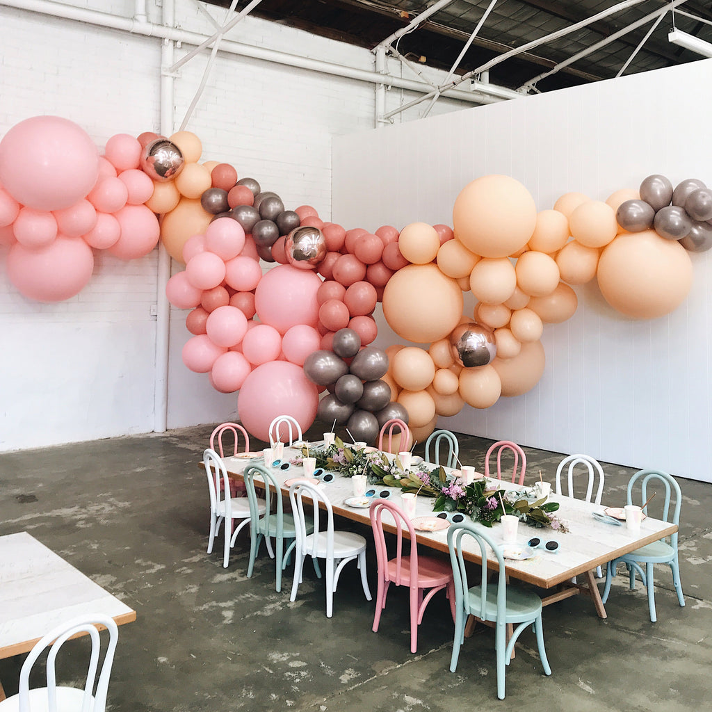 Parties Made Pretty Rosewood Balloon Garland Kit