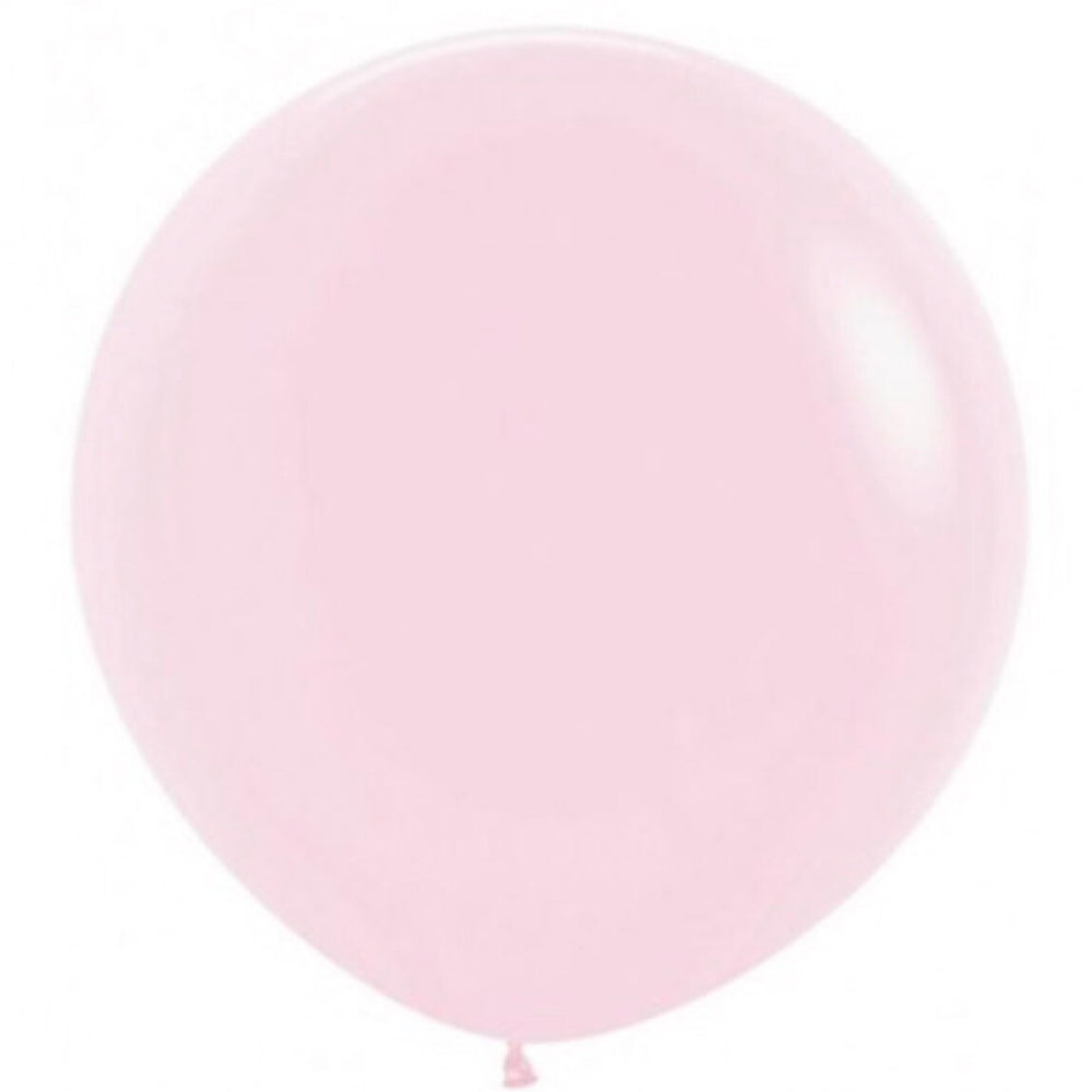 Giant Pastel Pink Balloon