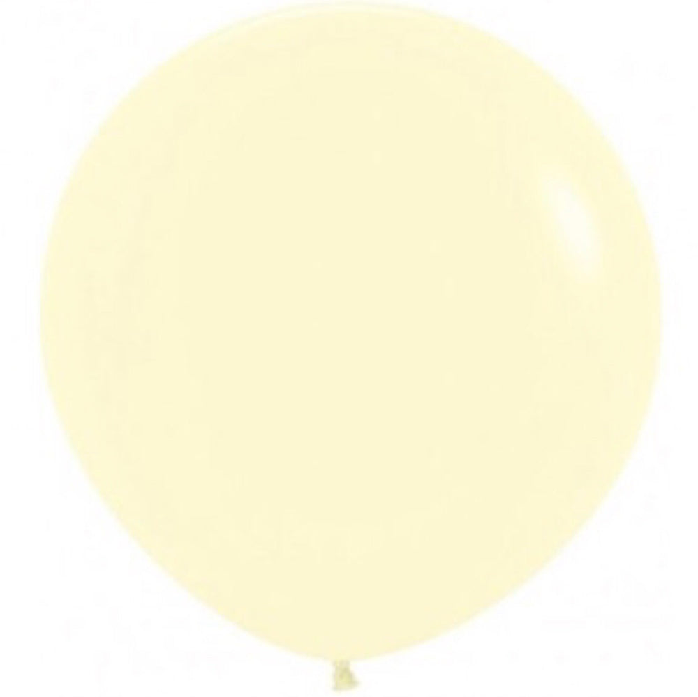 Giant Pastel Yellow Balloon