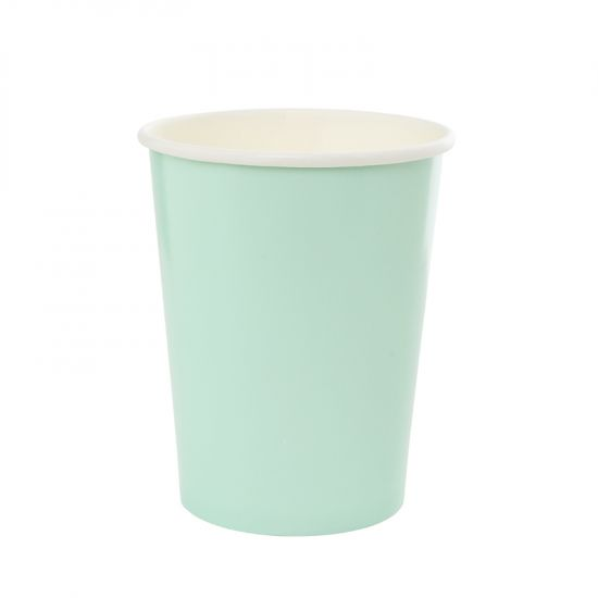 Pastel Mint Green Cups