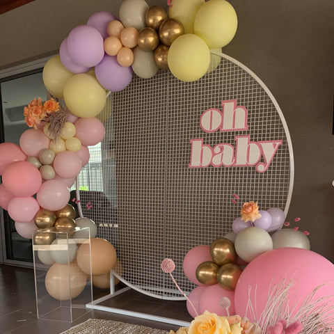 Oh Baby - Signage Hire