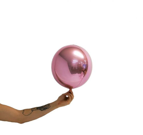 Balloon Balls 25cm - Metallic Light Pink