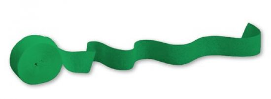 Streamers - Emerald Green