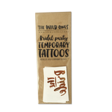Bridal Party Temporary Tattoos
