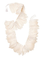 White Feather Garland