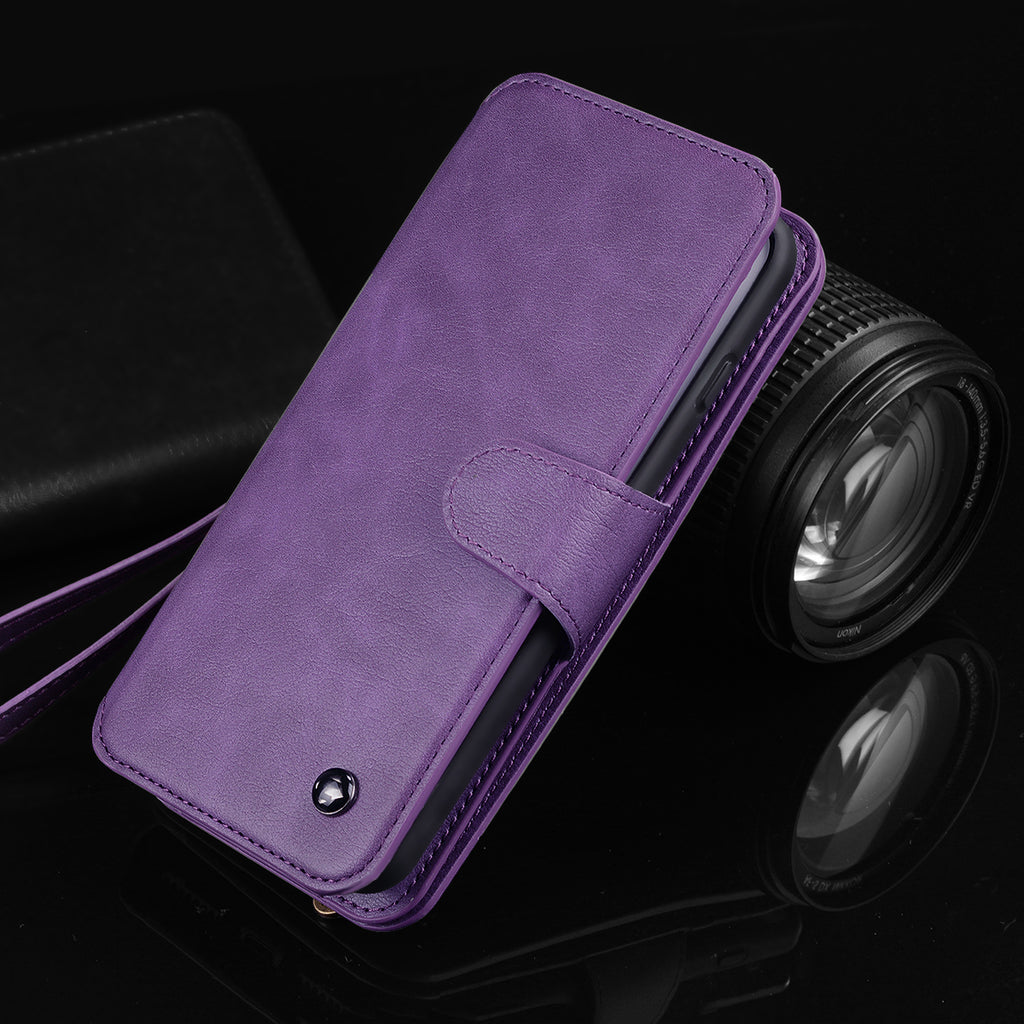 Essential Phone Wallet for iPhone with Shoulder & Wrist Strap