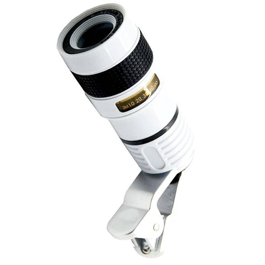 Clip Lens for All Mobile Phones - HD 8X Zoom Lens