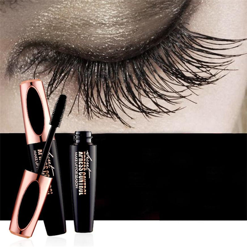 Luscious 4D Silk Fiber Mascara - Jaw Dropping Lashes in Seconds!