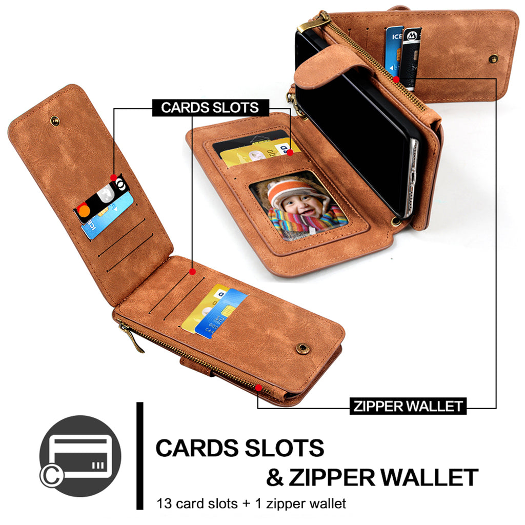 Posh Cross-Body Phone Wallet for Samsung & iPhone