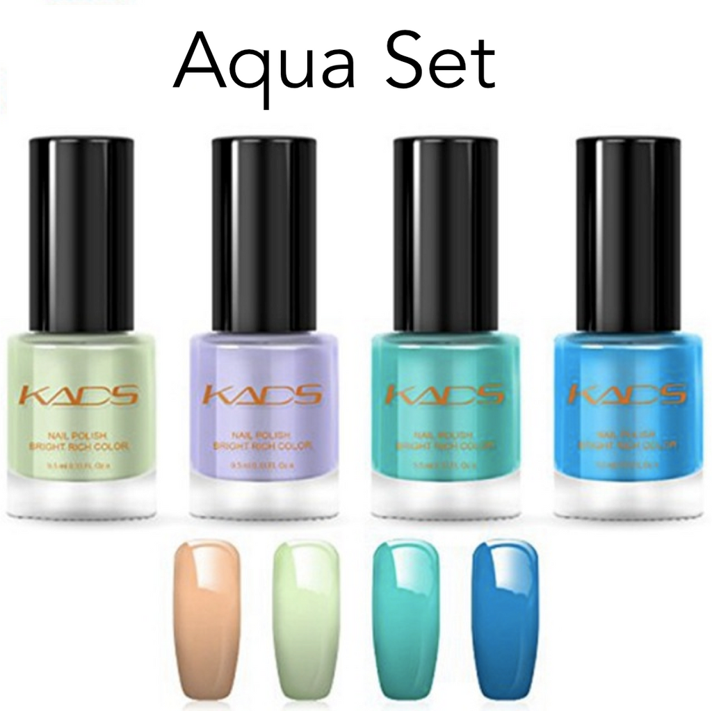 Mystique Dual Function Stamping Polish - 4 Piece Set