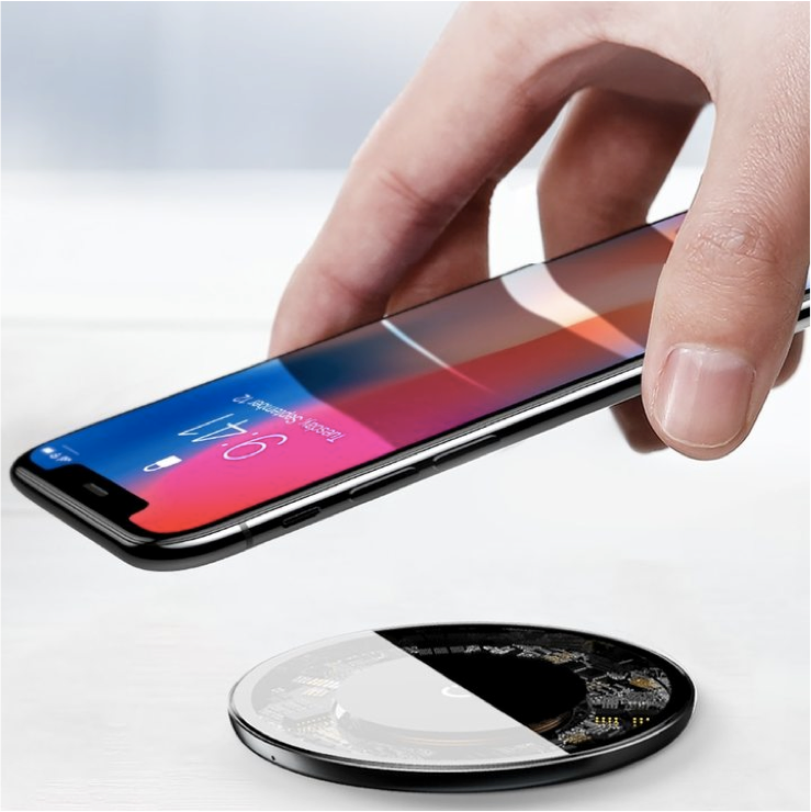 Small but Powerful Wireless Desktop Super Charging Pad - For Qi Wireless Charging Enabled Phones
