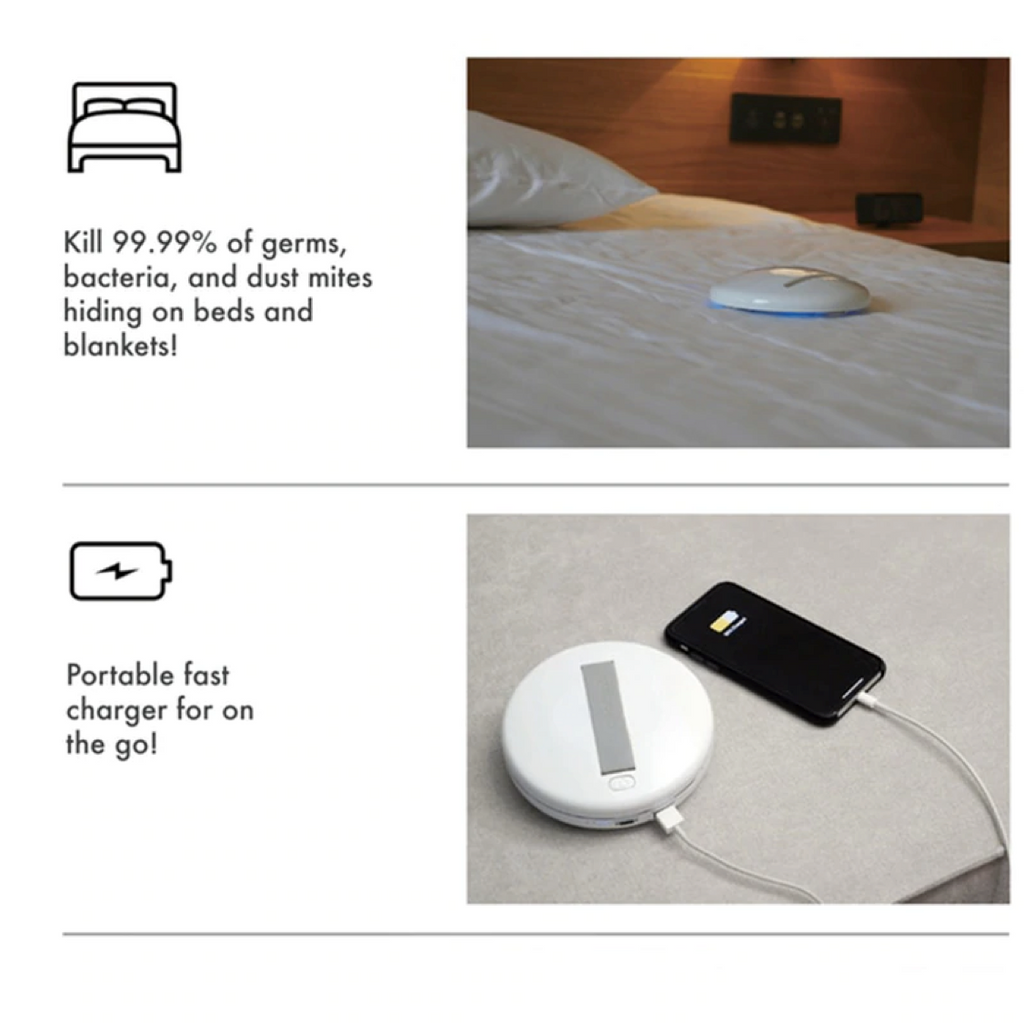CleanserBot - Sanitizes your Bed, Sofa, Cushions & More!