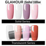 Limited Edition 13g Pink Series Glamour Poly Nail Gel