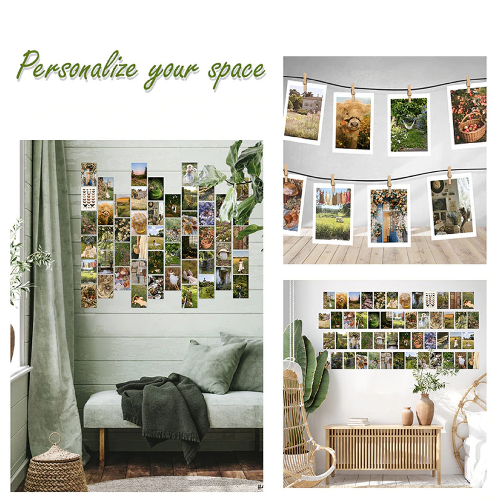 Cottagecore Wall Collage Kit