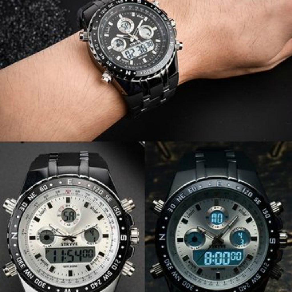 Stryve™ Dual Military Watches