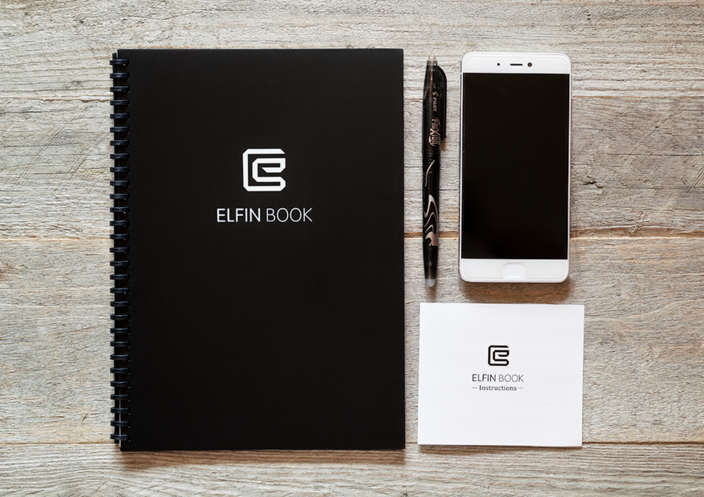 Elfinbook™  - The Smart Reusable Notebook + FREE Pilot Pen