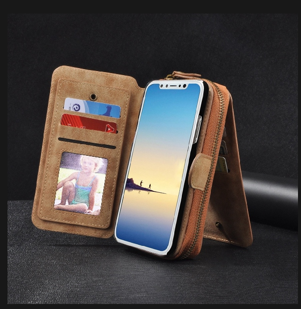 info for fd954 fa12b Cross Body Phone Wallet with Shoulder Strap & Wrist Strap for Samsung &  iPhone