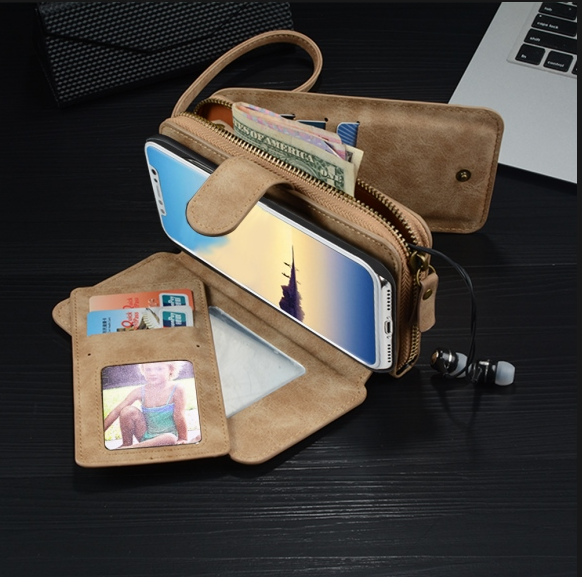 Cross-Body Phone Wallet For Samsung & iPhone