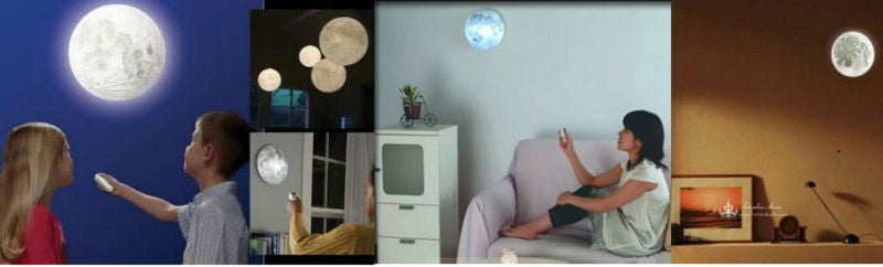 Phases of the Moon Night Light