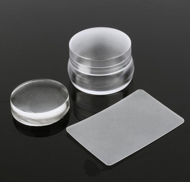 Mystique Crystal Clear Jelly Stamper & Scraper Set