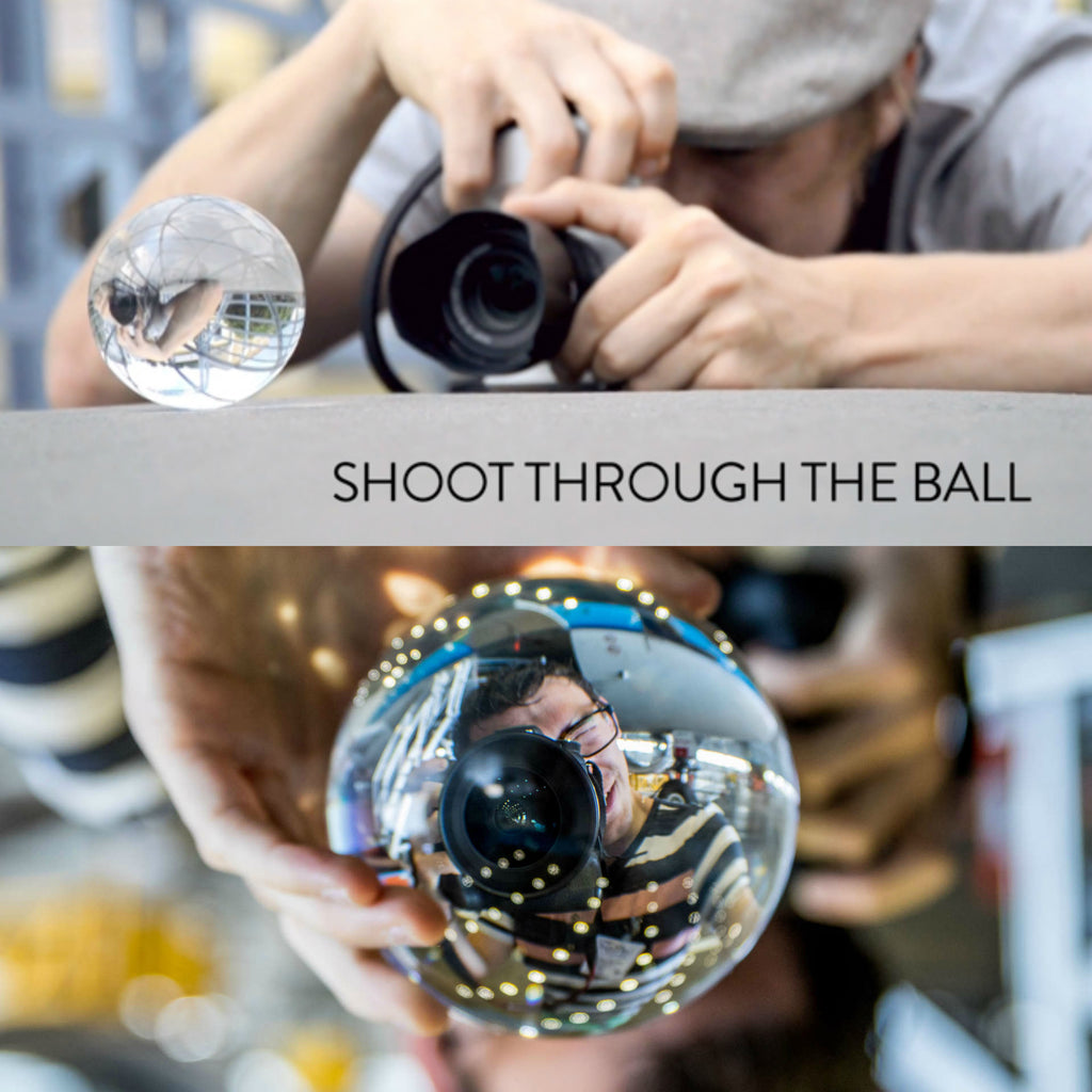 Globe Glass Spherical Photography Lens - For Amazing, Beautiful Pictures!