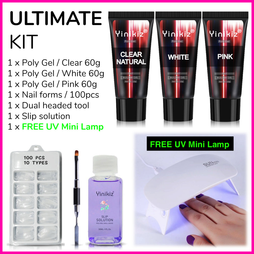 Glamour Poly Nail Gel Ultimate Kit