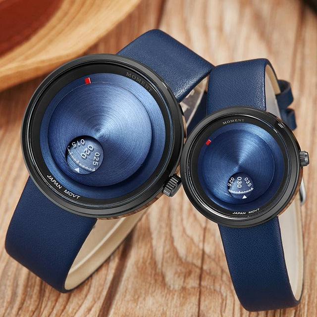 Turntable Couple Watch Set