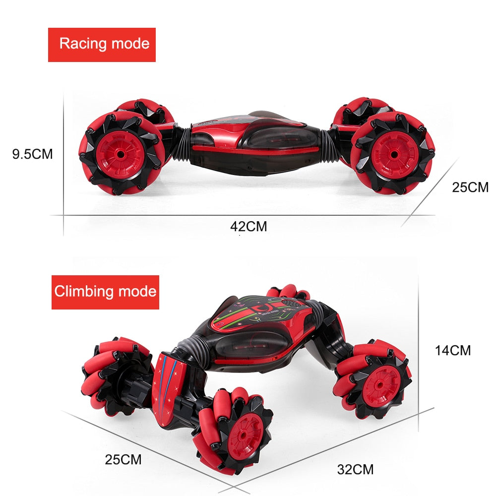 Cool Gesture-Controlled Multi-Terrain Stunt Car