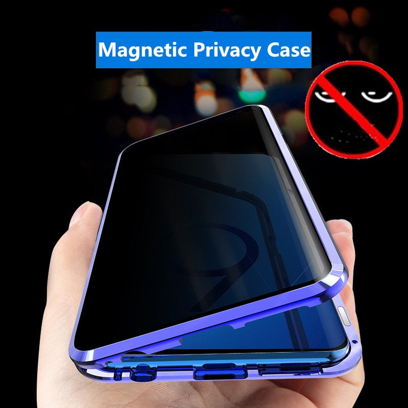 Anti-Peep Magnetic Phone Case for Samsung