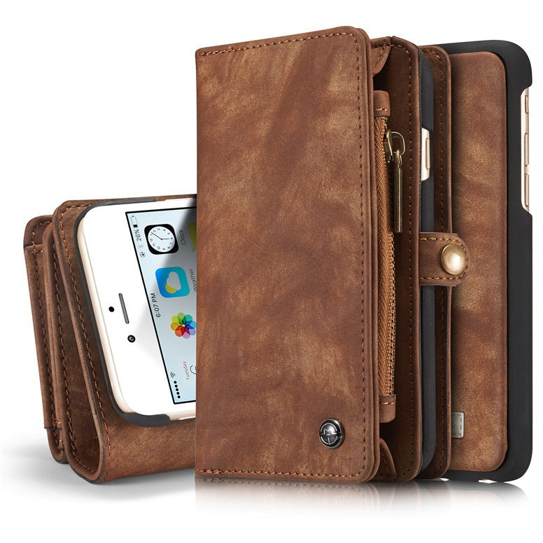 CaseMe Luxurious Phone Case Wallet for iPhone