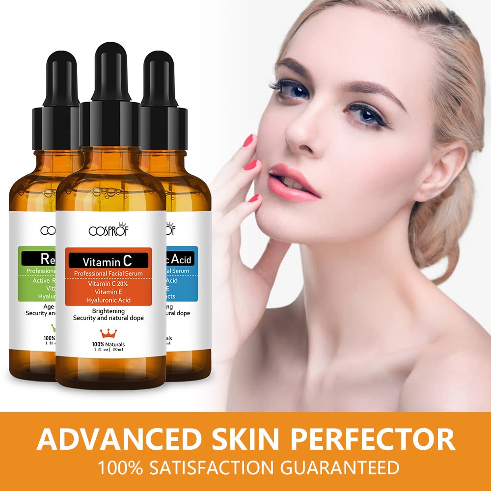 COSPROF™ 3-Piece Ultimate Skincare Serum Set