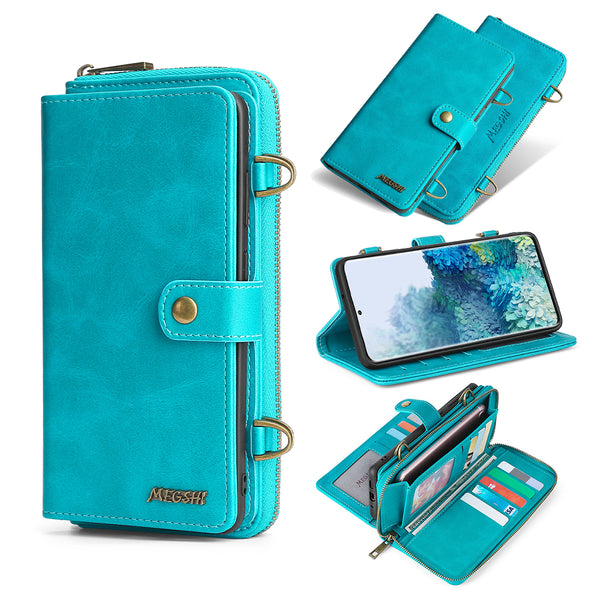Crossbody Phone Wallet for Samsung