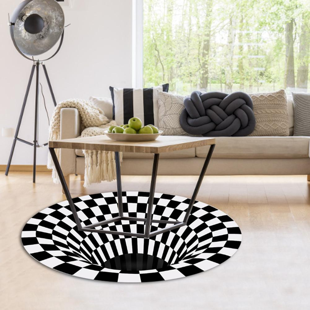 Vortex Illusion Fun Rug