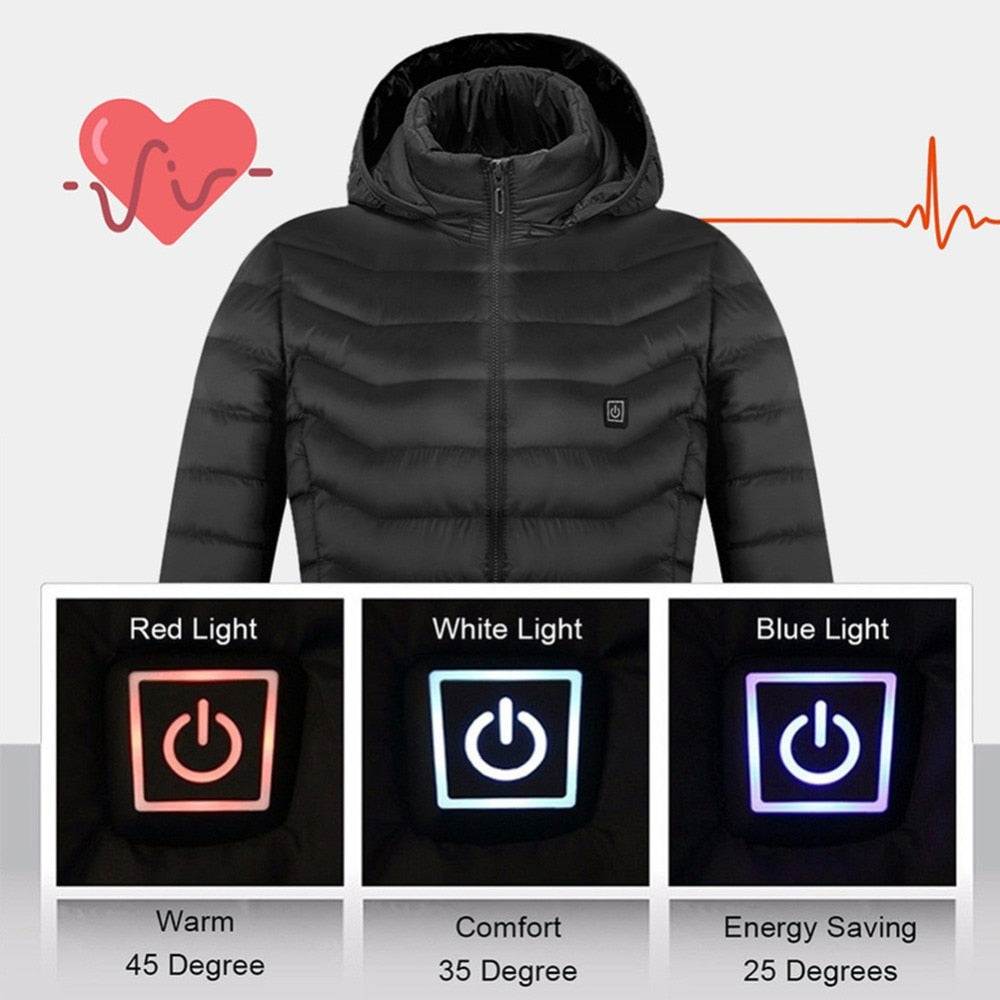 Puff Weatherproof Heated Jacket
