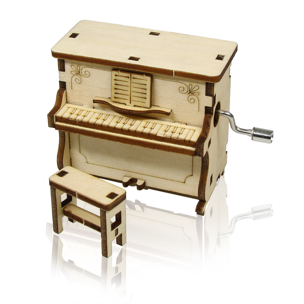 Make It Yourself Wooden Piano Music Box