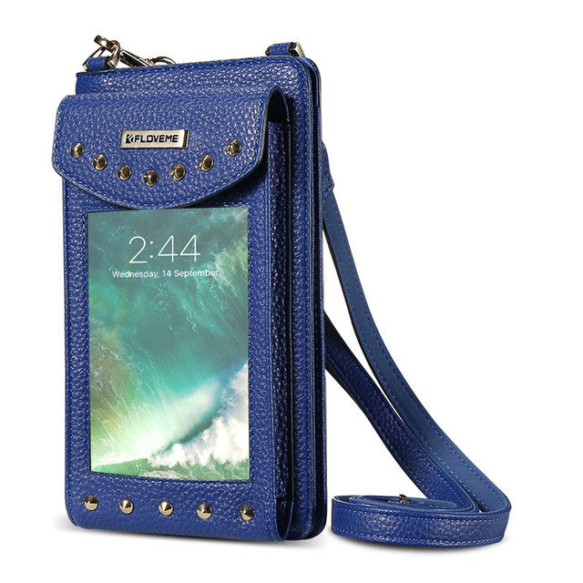 Stylish Cross-Body Phone Wallet