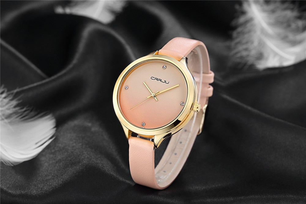 CRRJU™ Casual Chic Ladies Watch