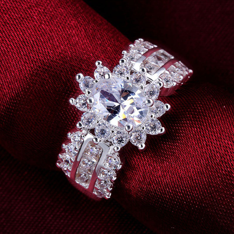 Indulgent Multi-Crystal Ring