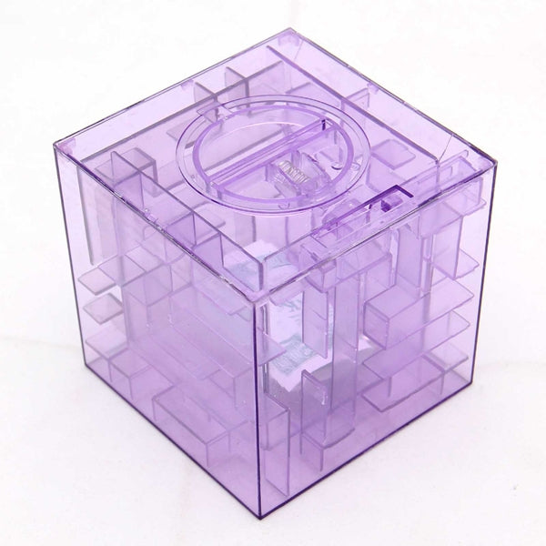 Money Maze Coin Bank - Easy to Deposit, Tough to Withdraw!