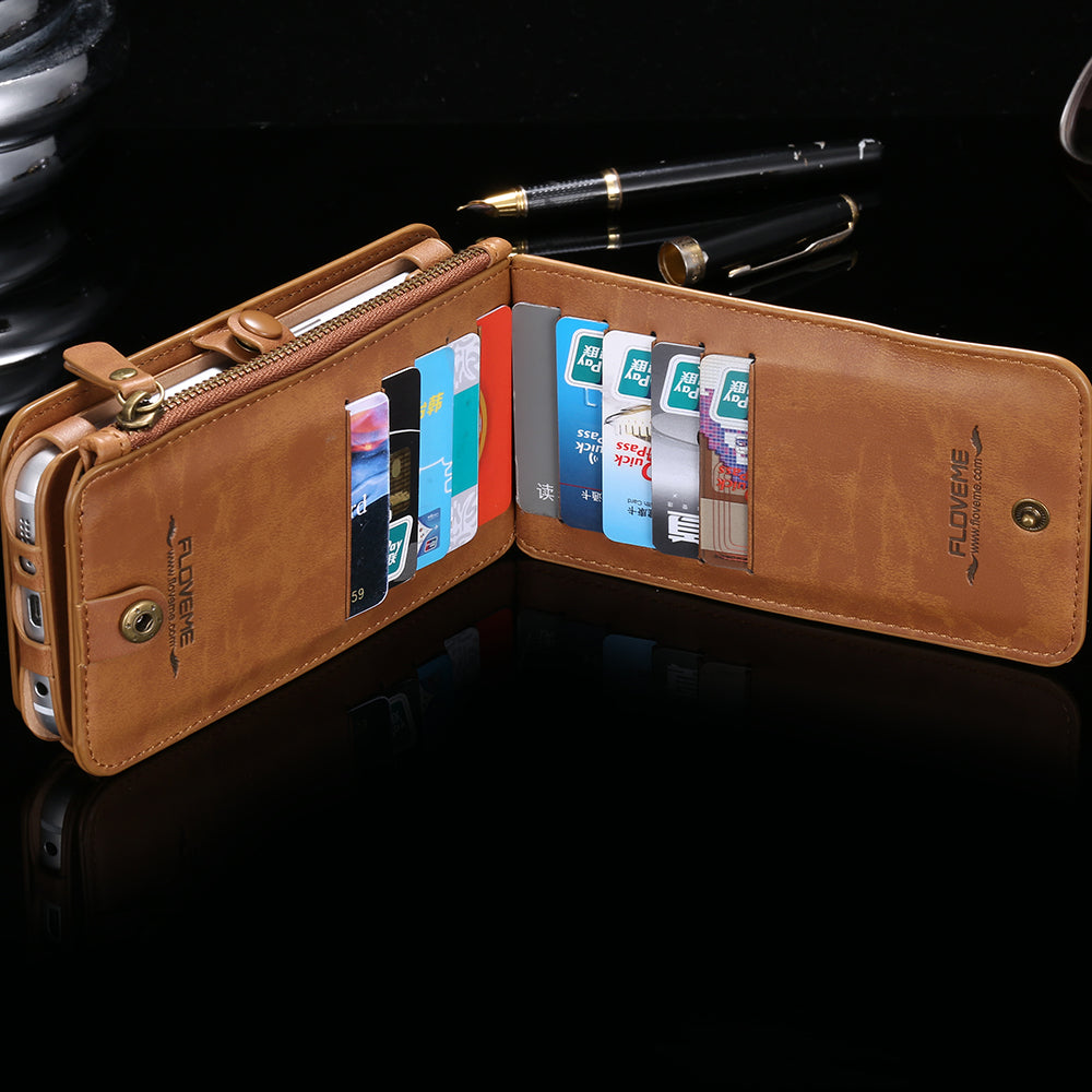 Classic Phone Wallet for Samsung