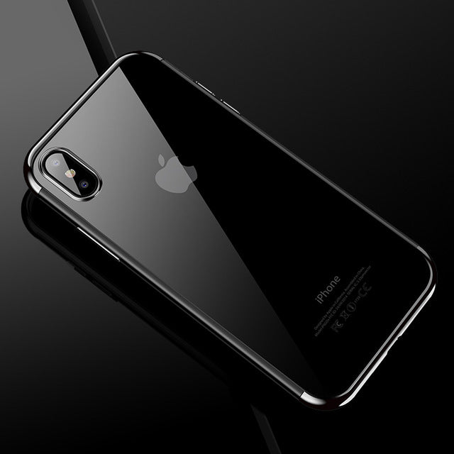 Crystal Clear Phone Case for iPhone X