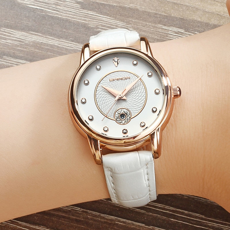 SANDA™ Classic Calendar Ladies Watch