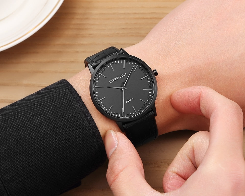 CRRJU™ Casual Luxury Wrist Watch