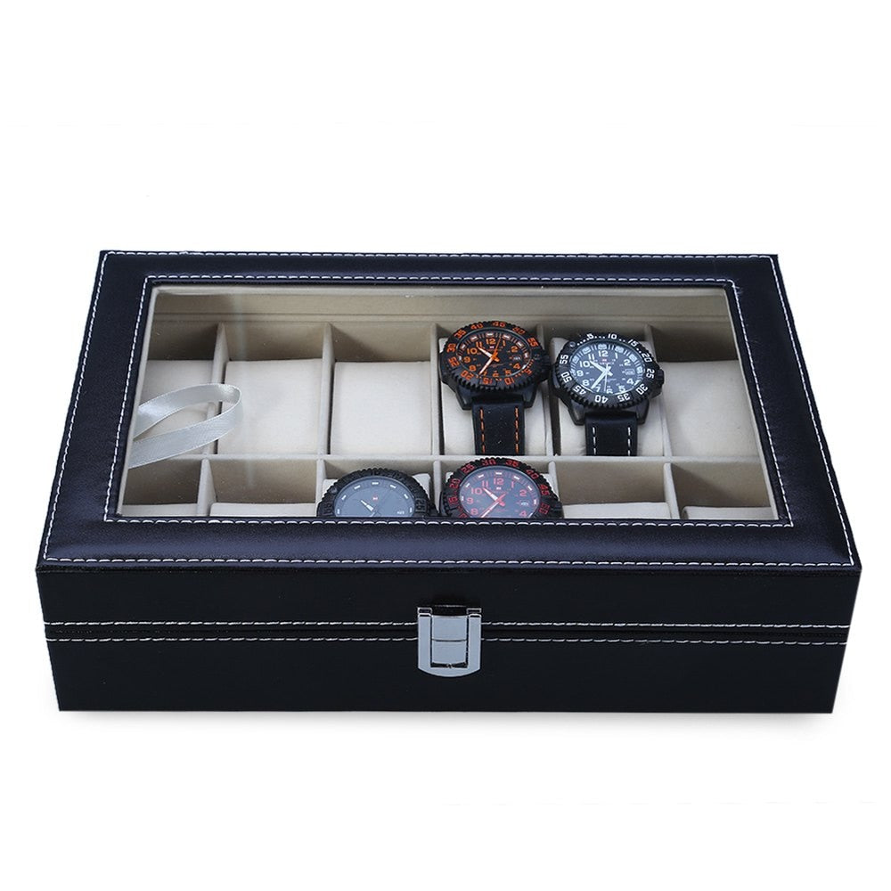 Watch Storage Box - Displays up to 12 watches