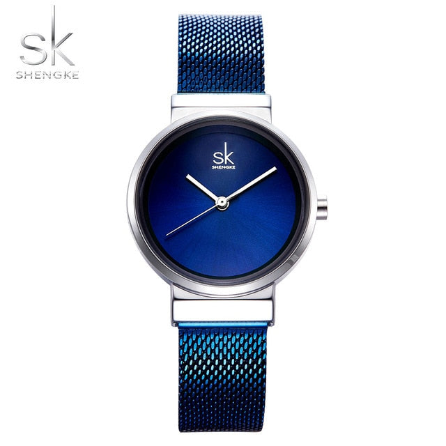 SK™ Stylish Mesh Ladies Watch