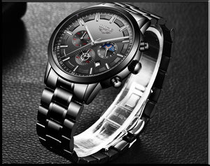LIGE™ Galaxy Sports Quartz Watches