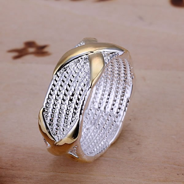 Silver Plated Wrap-Style Ring