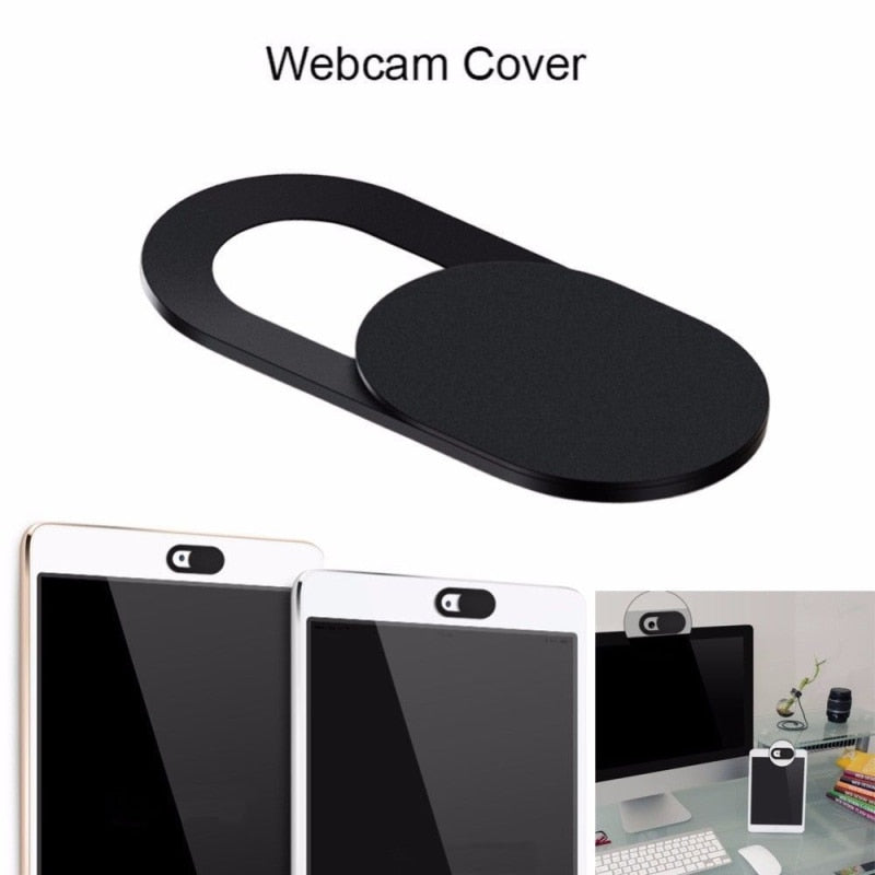 Universal WebCam Slide Shutter (6PC Pack) - Suits Most Mobile Devices & Laptops
