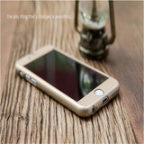 Full Protection Phone Case with Screen Protection Film For iPhone
